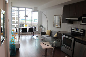 * BRAND NEW FULLY FURNISHED 1 BEDROOM in MARKHAM *