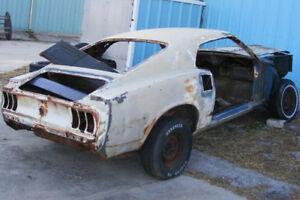 1967 1968 1969 1970 Mustang GT Mach1 Boss 302 parts