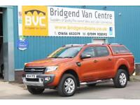 2014 FORD RANGER WILDTRAK 4X4 DOUBLECAB 3.2 TDCI 200 BHP DIESEL 6 SPEED MANUAL P