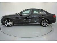 2014 BLACK MERCEDES E350 3.0 AMG SPORT DIESEL AUTO SALOON CAR FINANCE FR £225PCM