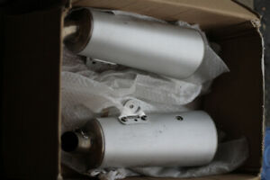 Exhaust pipes - Ducati Monster 796/696 - 2009 to 2014