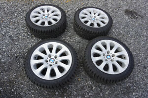 225/45/R17 Winter Tires and BMW Rims