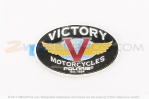 2003-2010 POLARIS VICTORY TANK BADGE RIGHT HAND - Part #7170335