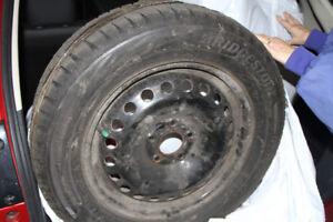 Pneus d'hiver Bridgestone Blizzak WS80 215/60R16