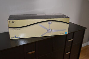 4 Brand New Emerson CF765 Loft Ceiling Fans 60 inches