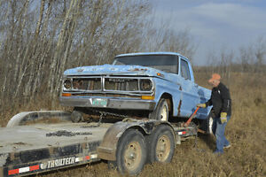 1968 Ford Truck Body for parts