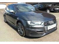 2016 Audi A3 Sportback Navigation 2.0 TFSI quattro 300 PS S tronic Petrol grey S, used for sale  Wolverhampton, West Midlands