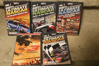 NASCAR DVDs PLUS DVD ON DALE EARNHART