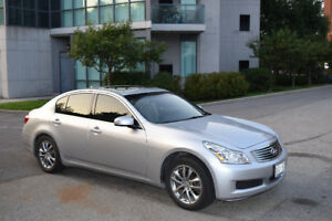 2008 Infiniti G35x Sedan | Nav + Back-up camera + AWD