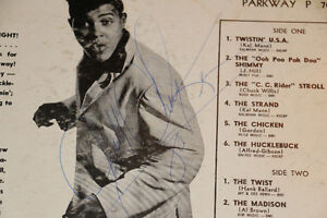 Great Autographed Chubby Checker Albums London Ontario image 8