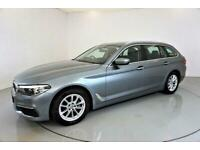 2017 BMW 5 Series 2.0 520D SE TOURING 5d AUTO-1 OWNER FROM NEW-HEATED BLACK DAKO