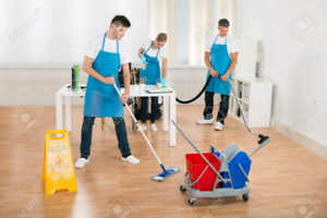 Urgent cleaning services