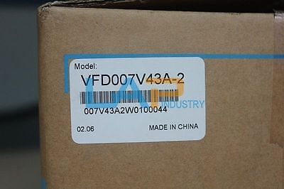 1pcs New For Delta Vfd-007v43a-2 Frequency Inverter Drive 3ph 1hp 440v