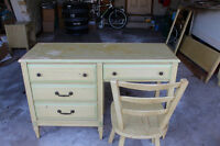 Vintage Green French Provincial - Baronet