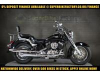 2008 08 YAMAHA XVS650 DRAGSTAR 650CC 0% DEPOSIT FINANCE AVAILABLE