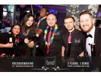 Weekend Bar Staff Jobs available at BED Bar Woking. £9ph after training completed
