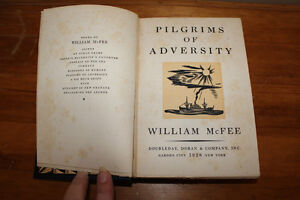 Pilgrims of Adversity by William McFee 1928 London Ontario image 1