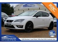 2016 65 SEAT LEON 1.4 TSI FR BLACK TECHNOLOGY 5D 125 BHP
