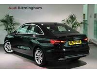 2020 Audi A3 SALOON 35 TFSI Sport 4dr S Tronic Auto Saloon Petrol Automatic