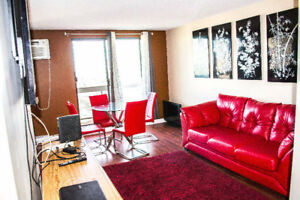 3 bedroom condo main downtown area 23rd floor Available Now