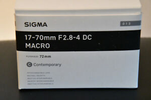Sigma 17-70mm f/2.8-4 Contemporary DC OS AF HSM Lens For Nikon