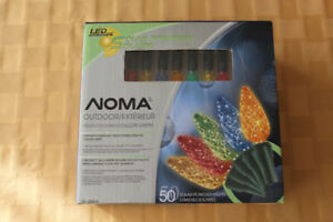 NOMA Solar Patio Lights - No Hydro Needed - Very Low Price!!