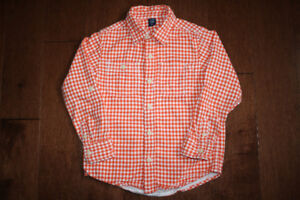 Baby GAP Long Sleeve Button Up Shirt - 5T