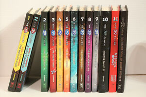 The 39 Clues Volumes 1-11 plus The Black Book of Buried Secrets