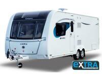 2021 Compass Casita 860 twin axle 4 berth 8ft wide caravan
