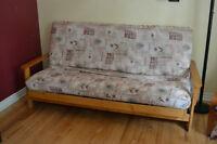 Divan-futon double