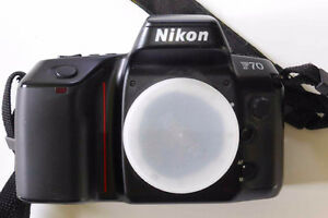 Nikon F70 (film camera) body only.