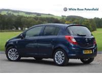 2014 Vauxhall Corsa 1.2 SE 5dr Petrol blue Manual
