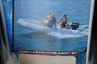 NEW 14 FEET INFLATABLE BOAT 1.2MM THICKNESS 45 CM TUBE