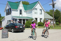 Bed & Breakfast + Beach Ice Cream Shop for Sale, Manitoulin