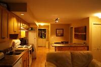 Beautiful Bright One Bedroom + Den Basement Suite