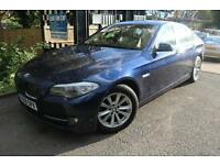 BMW 520D SE Blue 4 Door SAT NAV LEATHER SEATS Service History Finance Available