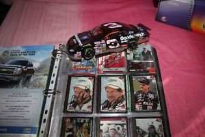 DALE EARNHARDT SR. COLORCHROME '97 CRASH CAR & AUTOGRAPH NASCAR