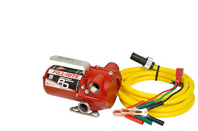 Tuthill Fill Rite Rd812nn 12 V Dc 8 Gpm Fuel Transfer Pump Heavy Duty Portable