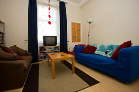 Bright, attractive one bedroom first floor flat in the heart of Morningside