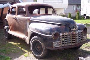 1947 Dodge Special Deluxe For Parts or To Restore