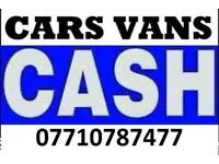 07710787477 WANTED CARS VANS JEEPS SCRAP CARS NON RUNNING SELL MY CAR TODAY PAY CASH IN 1 HOUR