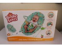 Brand New In Box Bright Starts Jolly Safari Bouncer