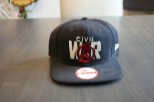 NEW ERA MARVEL COMICS CIVIL WAR LOGO BASEBALL CAP HAT