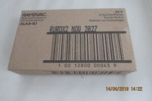 Rayovac UltraPro AA Battery cells 96 Pack Brand new Exp 2027