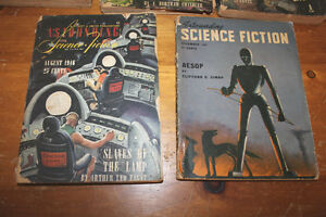 "Vintage Set of 5 ""Astounding Science Fiction"" from the 1940s London Ontario image 4"