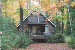 PRIVATE HALIBURTON COTTAGE GETAWAY!!!!