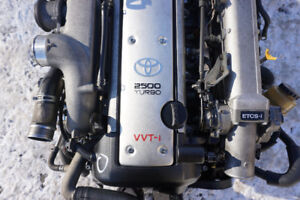 JDM Toyota 1JZ-GTE Turbo VVTi 2.5L Engine With AT Transmission