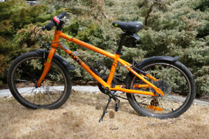 "Frog 55, 20"" Wheel, Kids Hybrid  Bike, Aluminum Frame, 8 Speed"