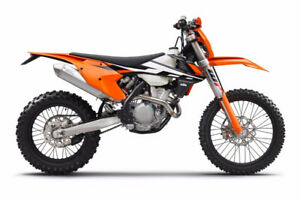 DIRT BIKE FOR SALE!! KTM 2017 350 EXC-F