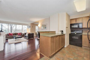 Beautifully spacious and bright condo Offers Comfort and conveni